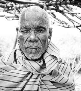 A senior Maasai