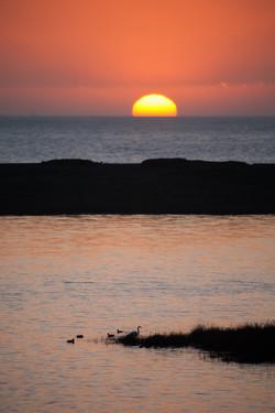 Sunset at Rodeo Beach