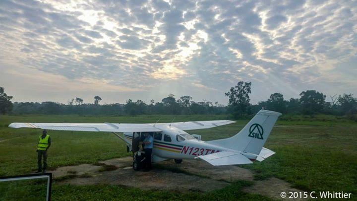Preparing for take-off