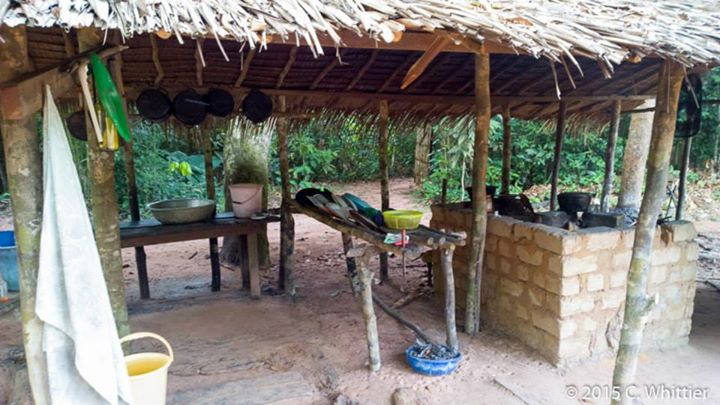 Mongambe camp kitchen