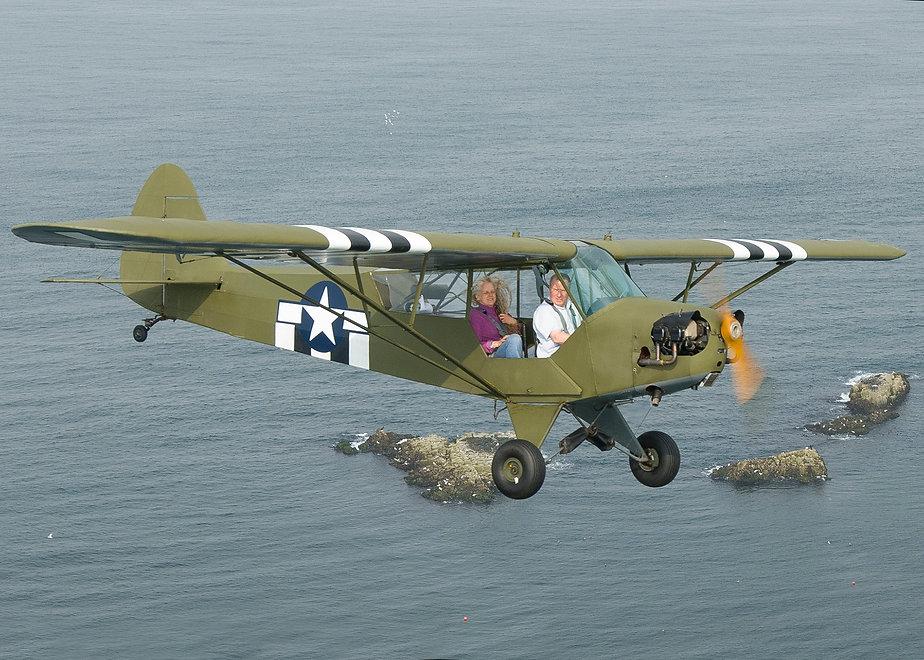003 PIPER CUB AIR TO AIR SCOTLAND ANDY S