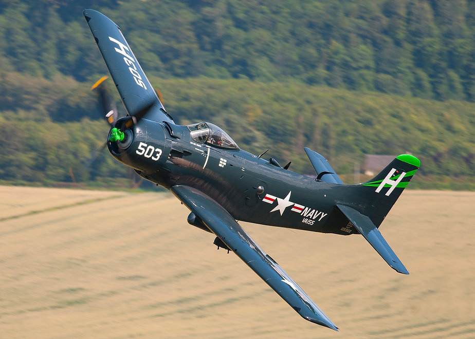 001 andy sheppard skyraider low level sc