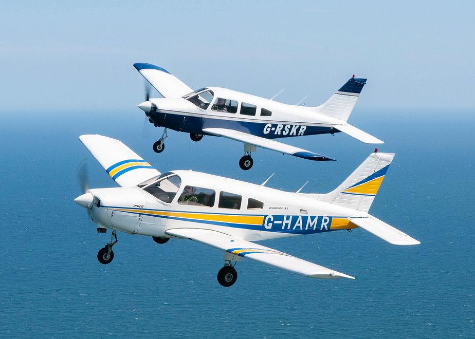 001 ABERDEEN FLYING SCHOOL AIR TO AIR SC