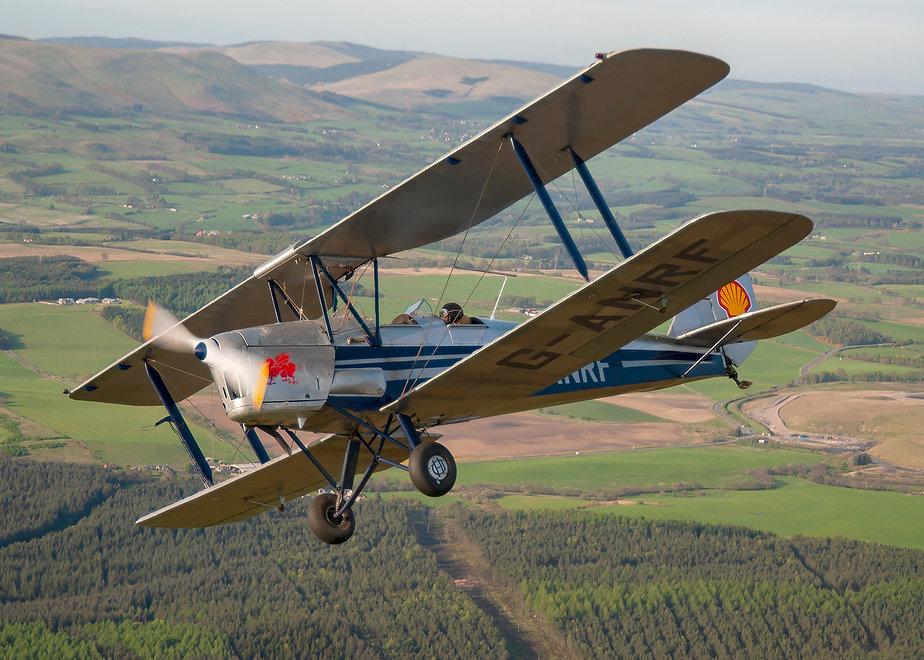 005 GANRF TIGERMOTH AIR TO AIR SCOTLAND