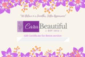 Copy of Gift Certificate- CaraBeautiful