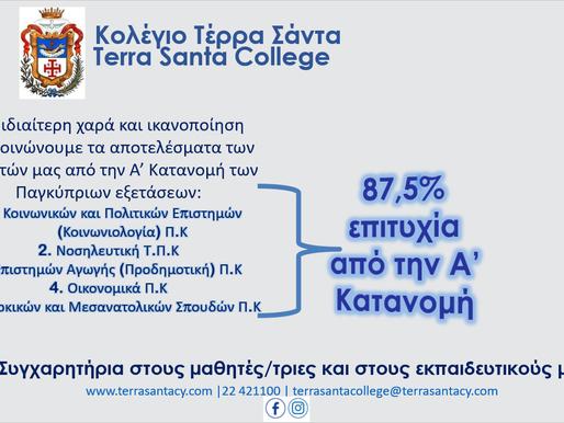 Αποτελέσματα Παγκύπριων Εξετάσεων