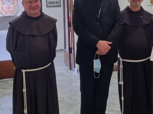 Επίσκεψη Λατίνου Πατριάρχη Ιεροσολύμων