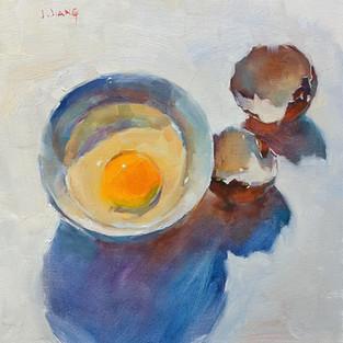 An Broken Egg, SOLD