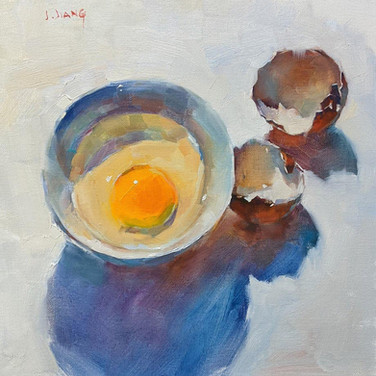 An Broken Egg, SOLD