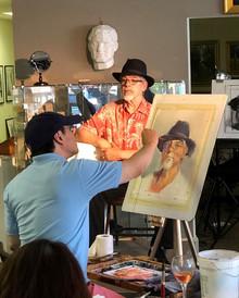 Life Portrait Painting Demo