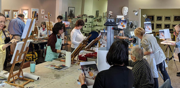 Weekly Oil PaintingClasses