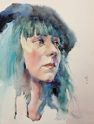 Watercolor Painting by JJ Jiang