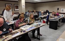 JJ Jiang art workshop at the Art of the Carolinas