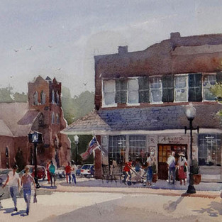 First Prize winner in inaugural En Plein Aire Competition Town of Cary, NC, 2014, SOLD