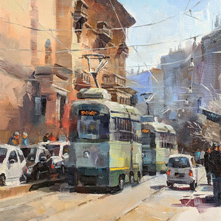 Eternal City, Italy,  Selected for the American Impressionist Society 21st Annual Juried Exhibition