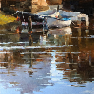 Yorkshire Coast, UK, Selected for the Oil Painters of America 2020 National Juried Exhibition, SOLD