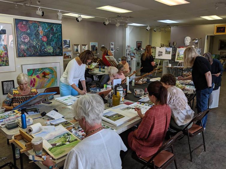 Weekly Watercolor Classes