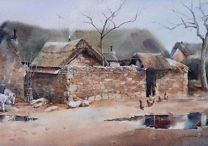 Watercolor Painting by JJ Jiang