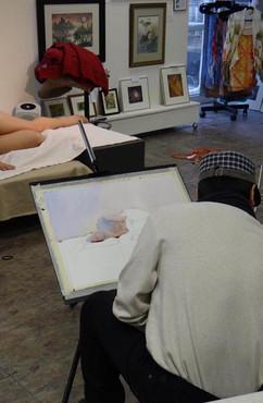 Figure painting workshop demo