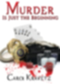 "Front cover of ""Murder Is Just the Beginning"""