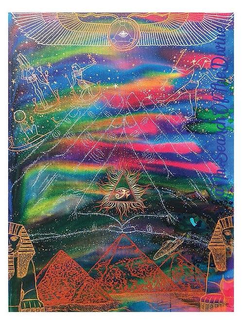Return of the Sisterhood/Brotherhood of Light -A4 Art Print