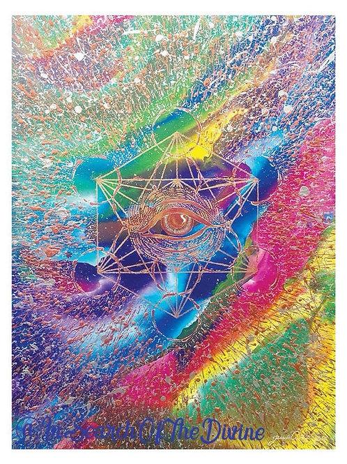 Eye of Metatron - A4 Art Print