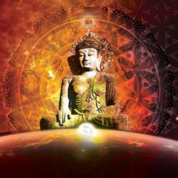 buddha orange yod