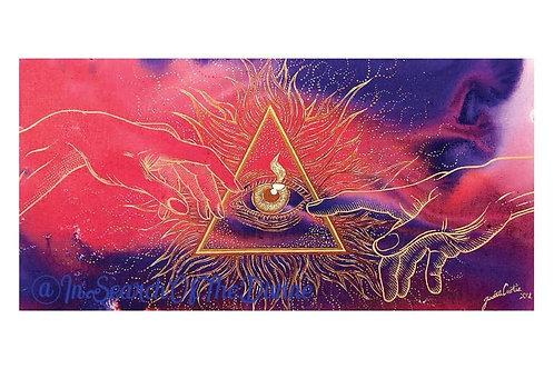 Divine Union - A4 Art Print