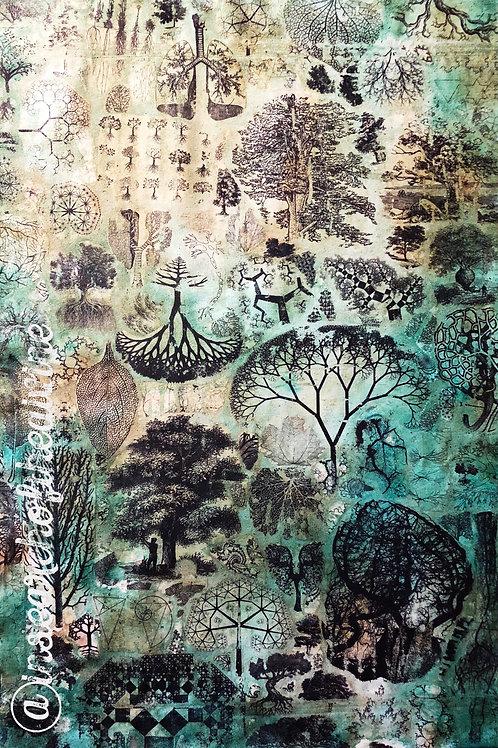Tree Fractal Meditation