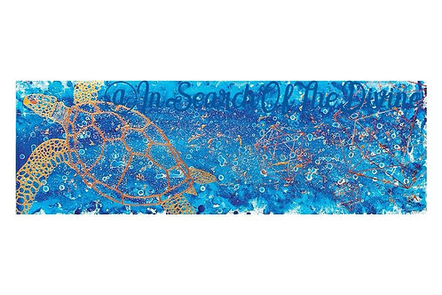 Sea of Crystal - A4 Art Print