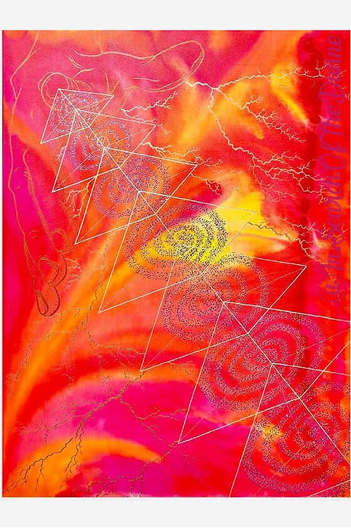 Unfoldment - A4 Art Print