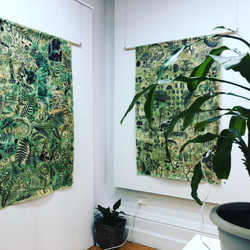 Nature Fractal Wall Hangings