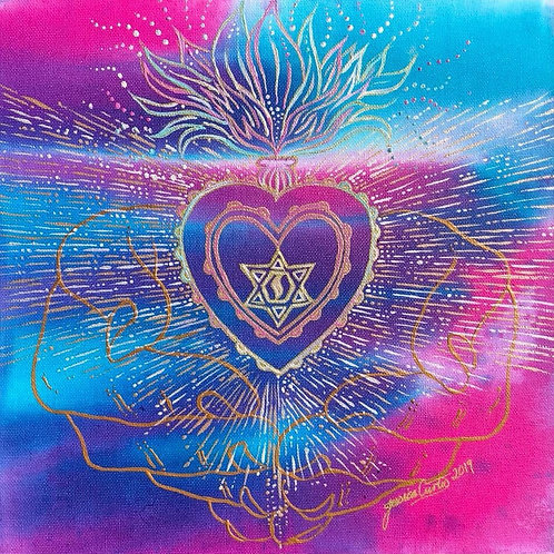 Immaculate Heart - A3 Art Print