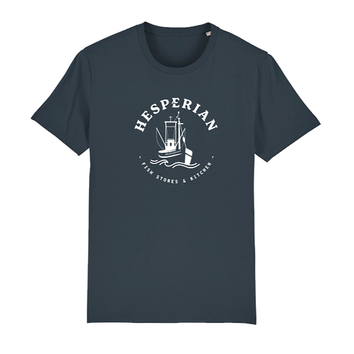 Hesperian T-shirt India Grey Central Logo