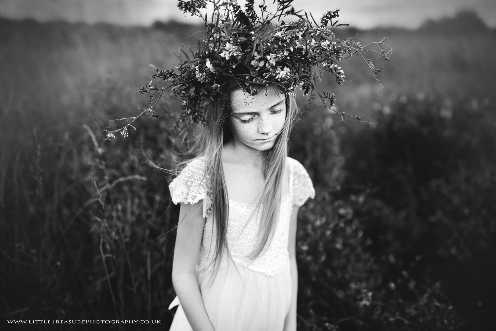 Fine art child photography