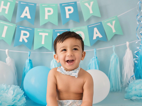 Aahil`s Cake Smash | Cake Smash Photo Session Essex