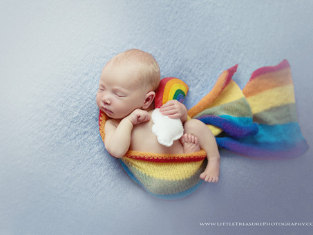 Little Rainbow Baby Ella Grace   Newborn Baby Photographer London Essex Kent
