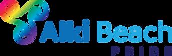 Alki Beach Pride Logo