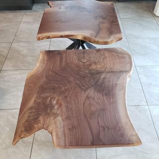 Walnut End Tables