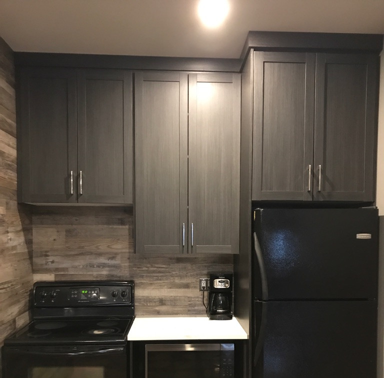 Custom Kitchen Cabinets for a Man Cave