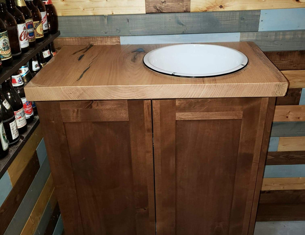 Custom Made Cabinet for Man Cave