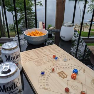 Detroit Tigers Custom Made Baseball Board Game