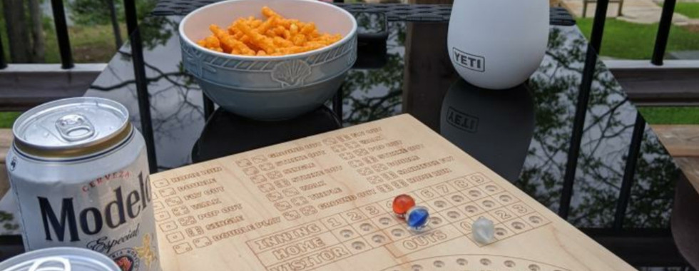 Detroit Tigers Custom Made Baseball Board Game