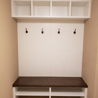 Custom Mudroom Lockers and Bench