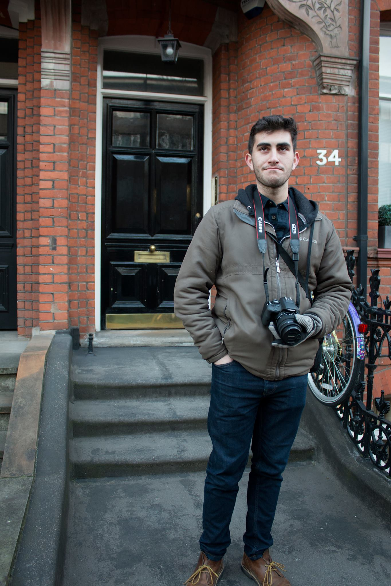 Justin and his camera