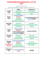 PROGRAMME DES SORTIES DU 13_07 au 19_07.