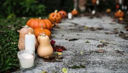 Pumpkins and Candles