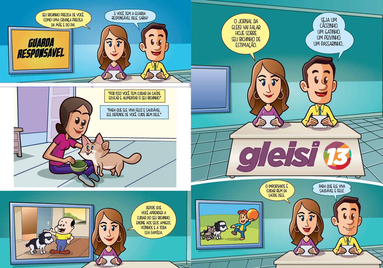 Quadrinhos educativos