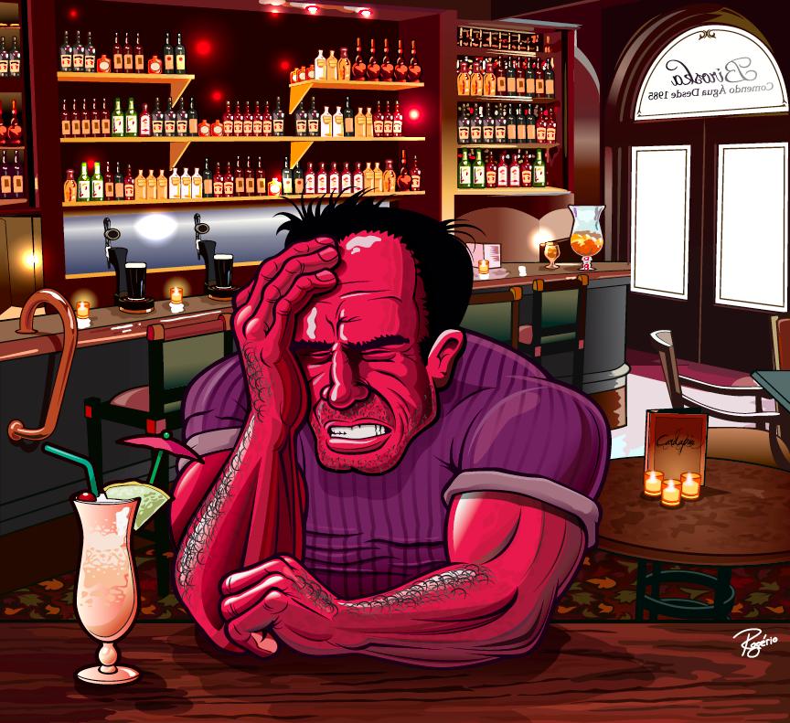 Ressaca no pub