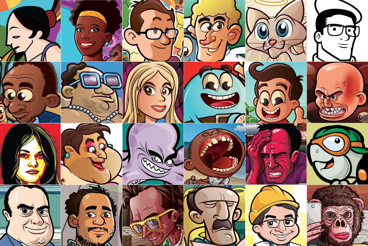 Compilação faces